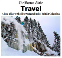 A love affair with ski town Revelstoke, British Columbia